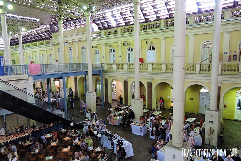 Interior Mercado Público Municipal - Visitar Porto Alegre