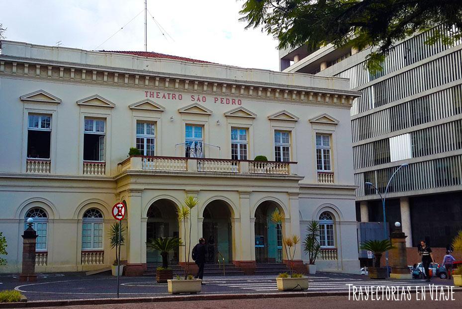 Theatro Sao Pedro - Visitar Porto Alegre