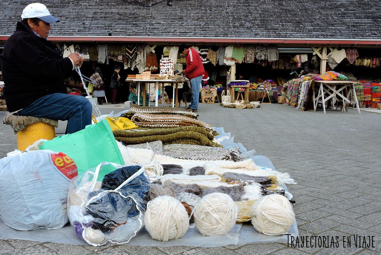 Feria Artesanal de Dalcahue. Isla Grande de Chiloé.