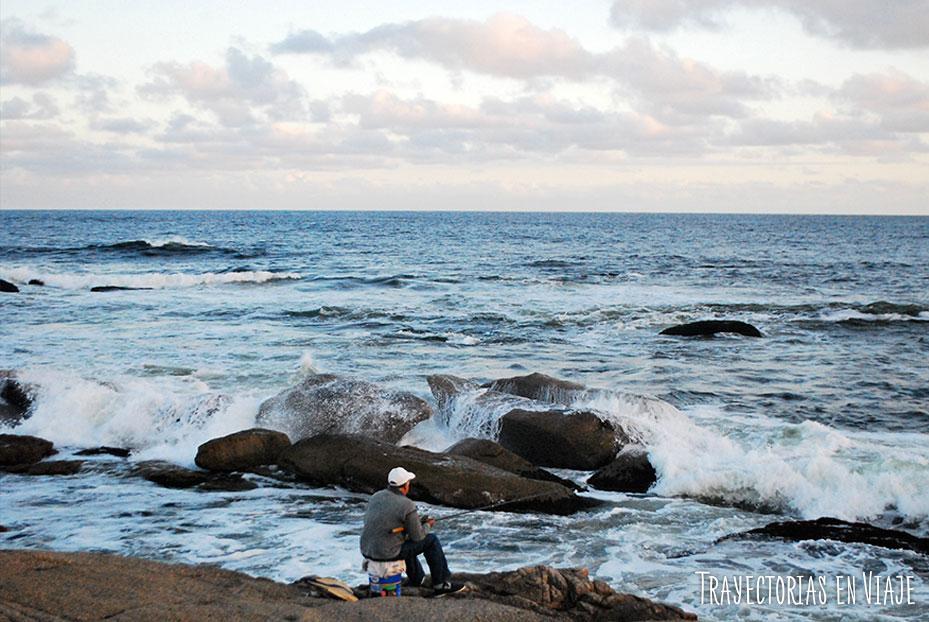 Playa de piedras de José Ignacio