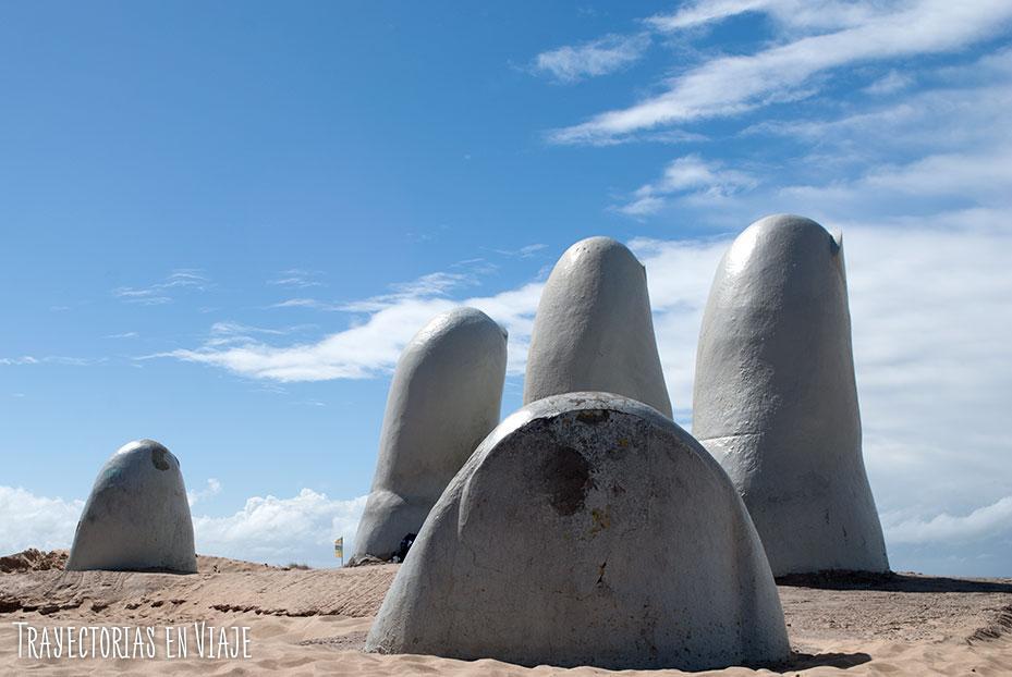 Playa Brava de Punta del Este, Uruguay.