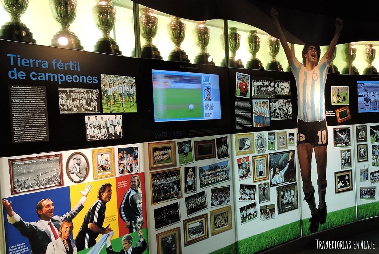 Museo del fútbol.