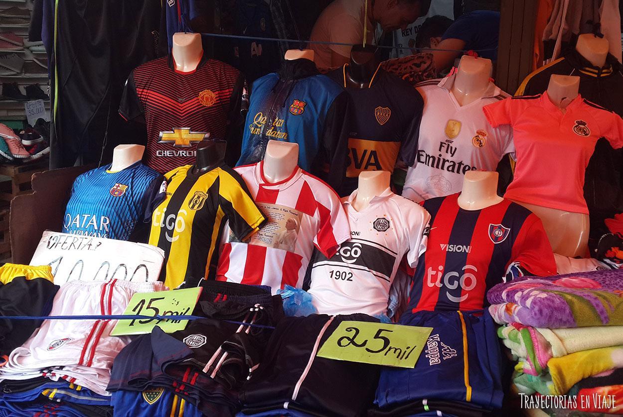 Fútbol y viajes. Asunción.