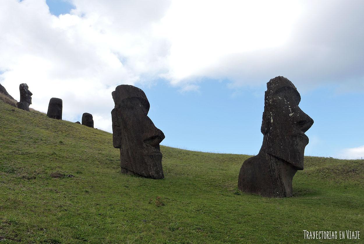 Rano Raraku - Isla de Pascua