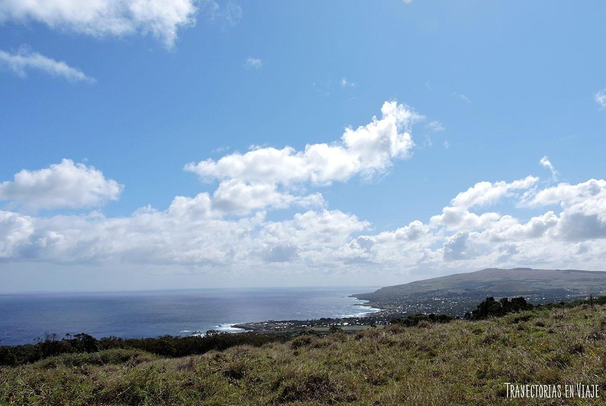 Vista de Hanga Roa - Isla de Pascua