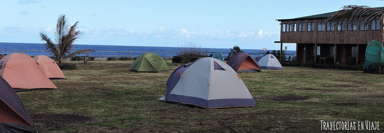Camping Mihinoa, parte de la historia de Isla de Pascua