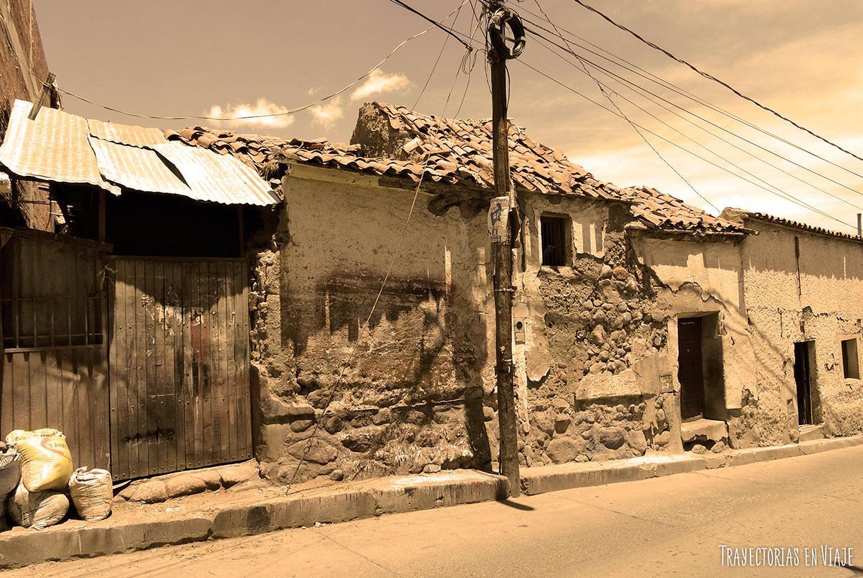 Imágenes de Potosí: barrio minero