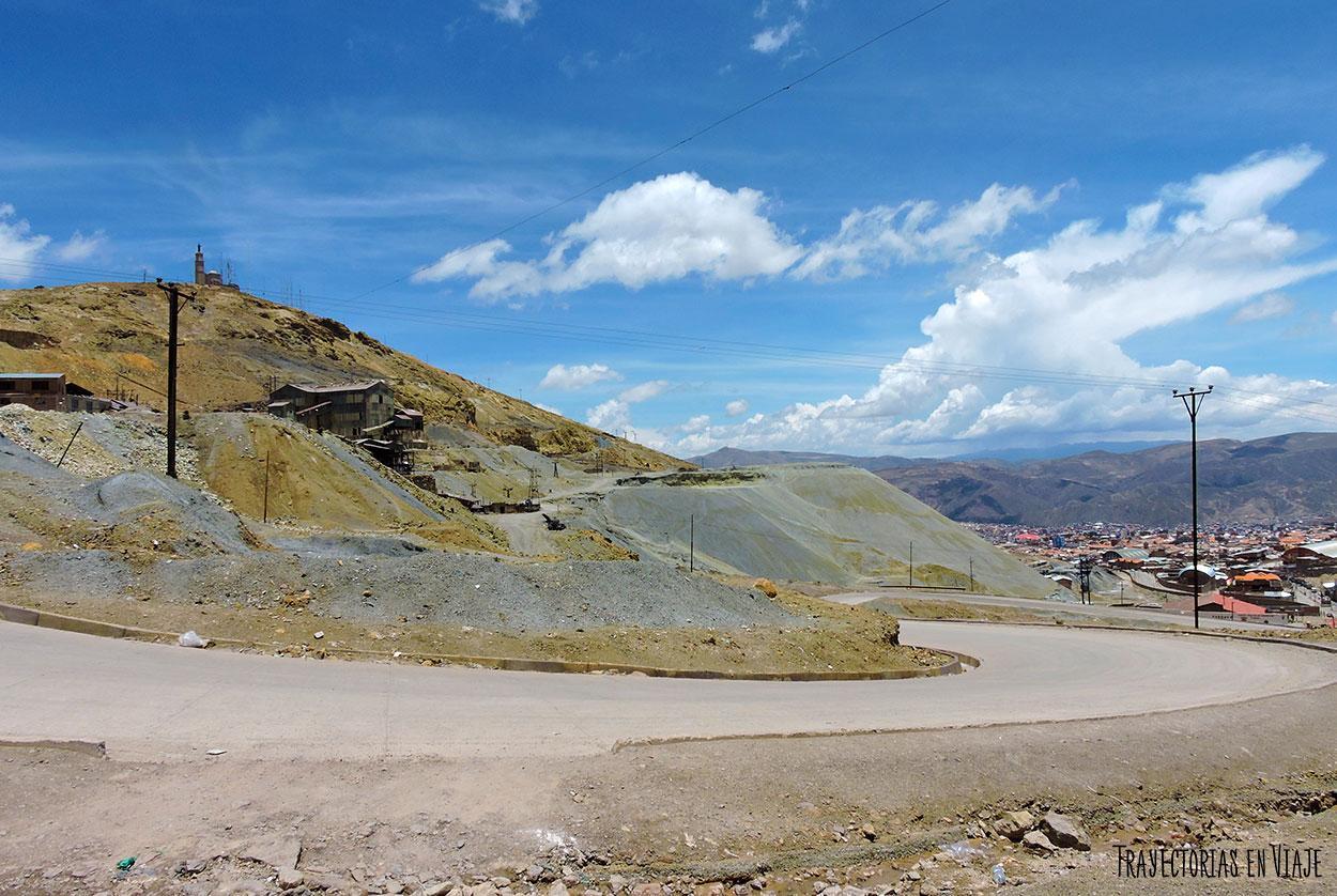 Las minas de Potosí en el Cerro Rico