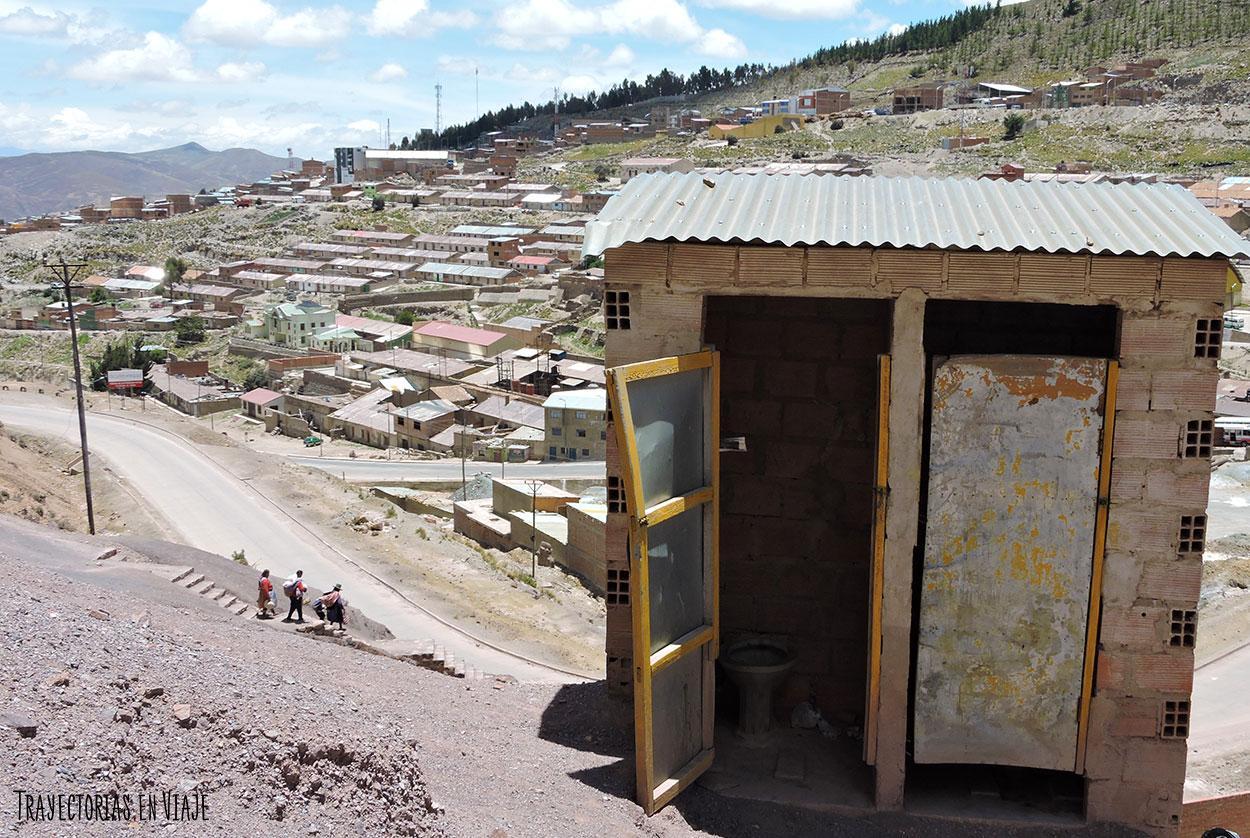 Baño en las minas de Potosí