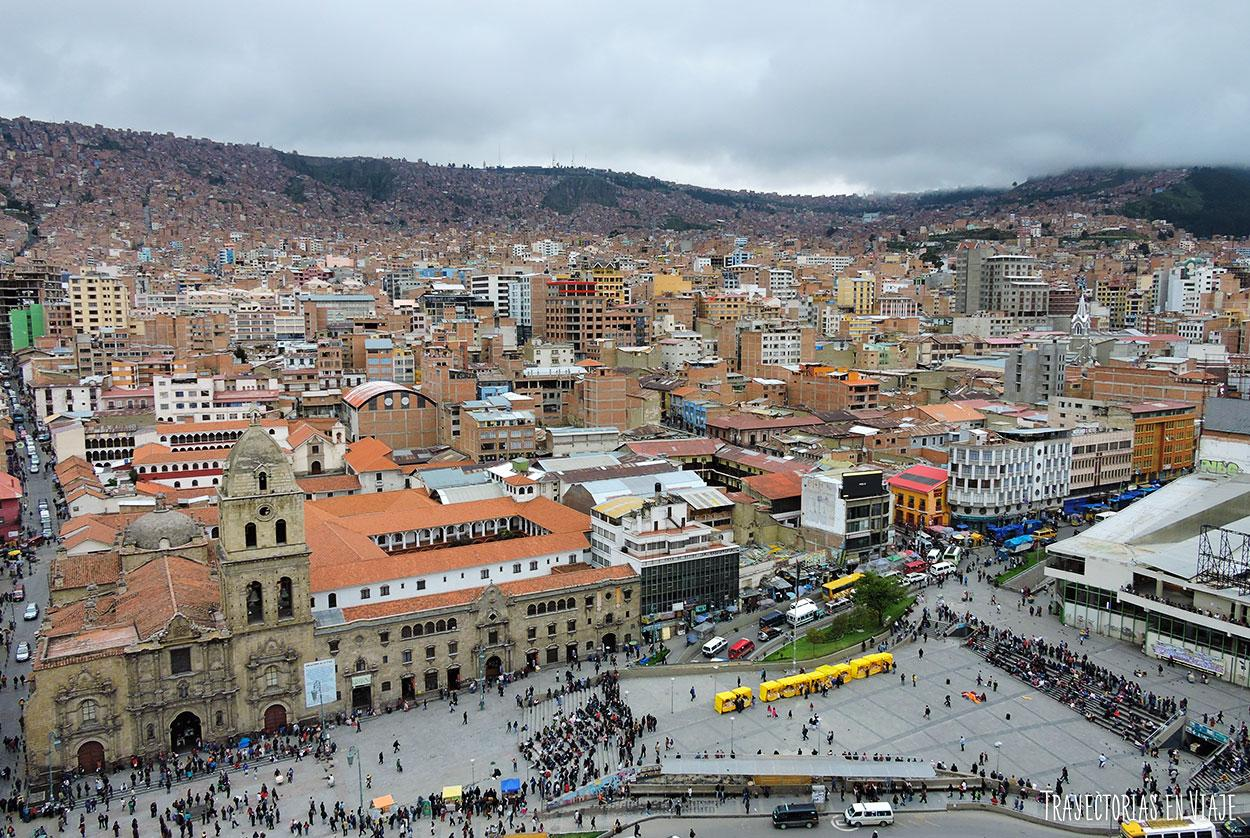 Imágenes de La Paz - Vista aérea