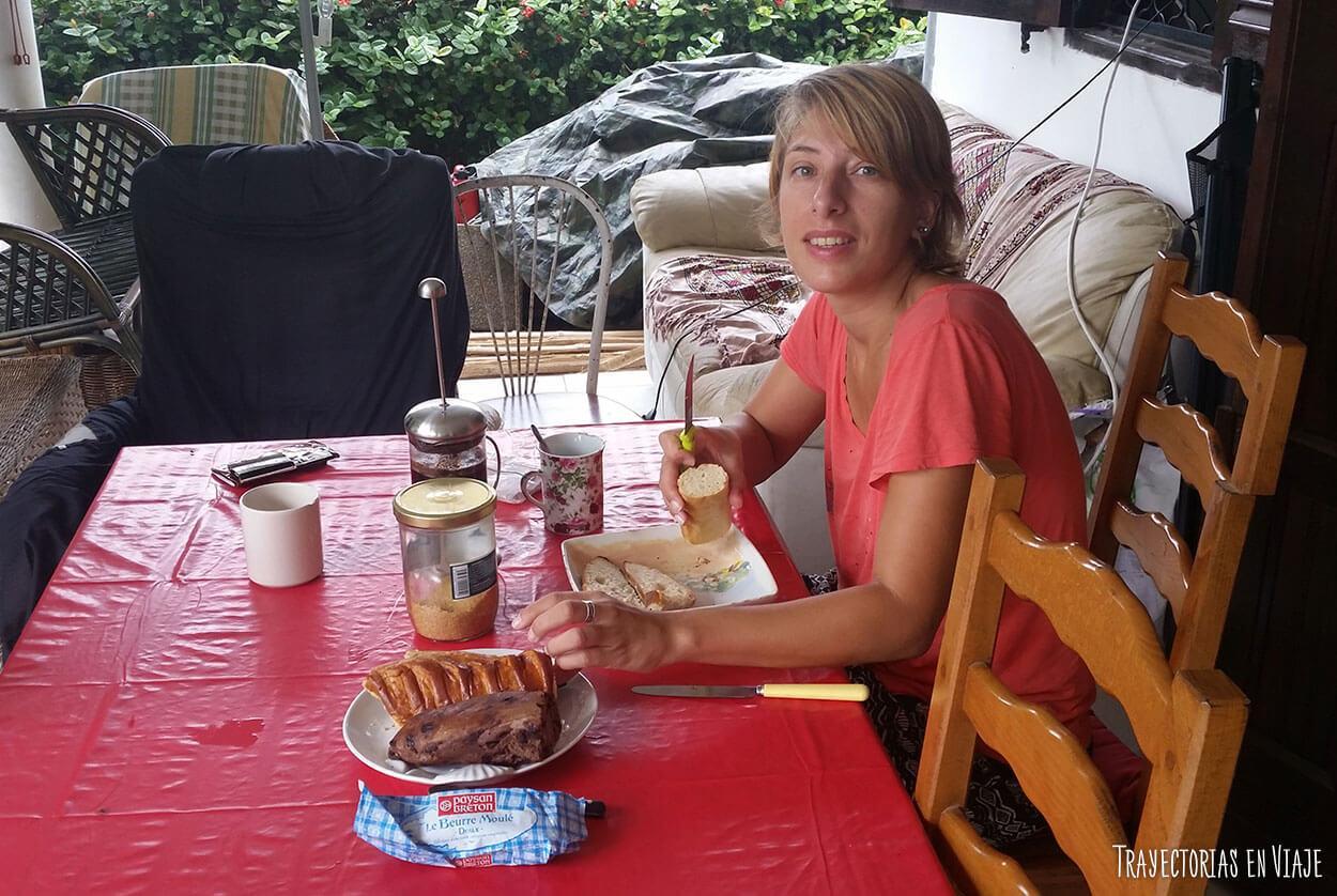 Viajar sin pagar hospedaje en Guayana Francesa