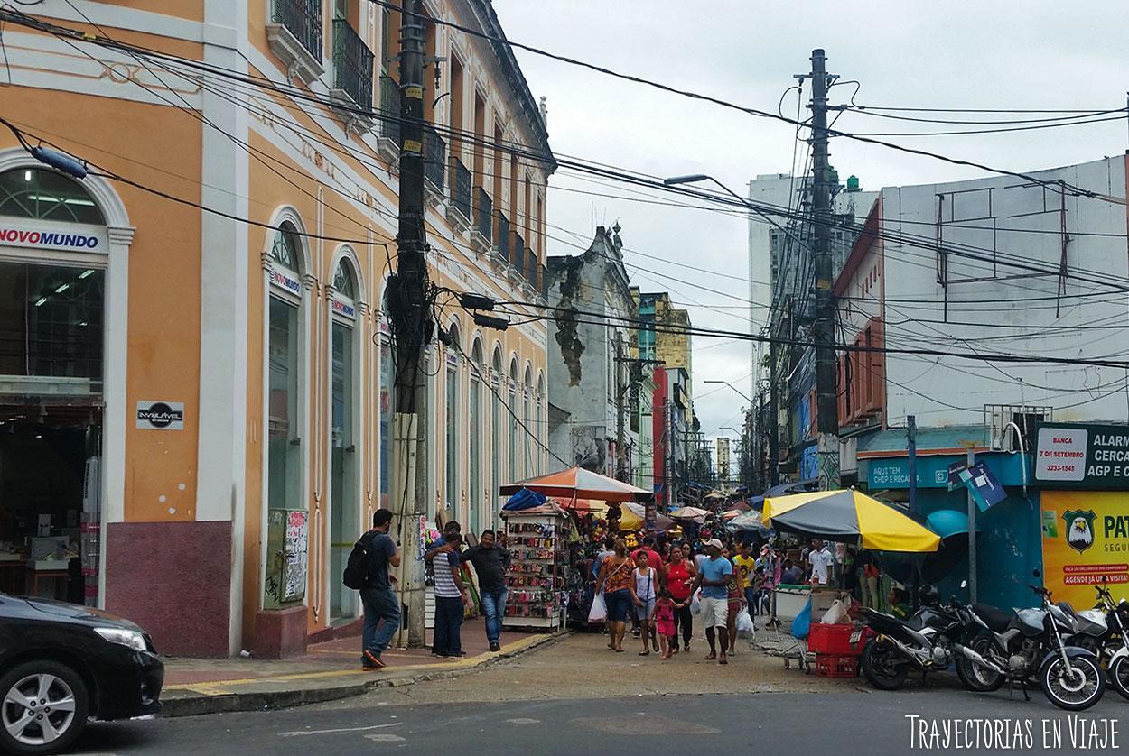 Qué hacer en Manaos - Peatonal