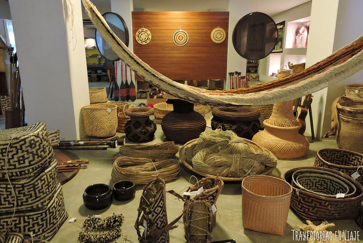 Qué hacer en Manaos - Galería de artesanías