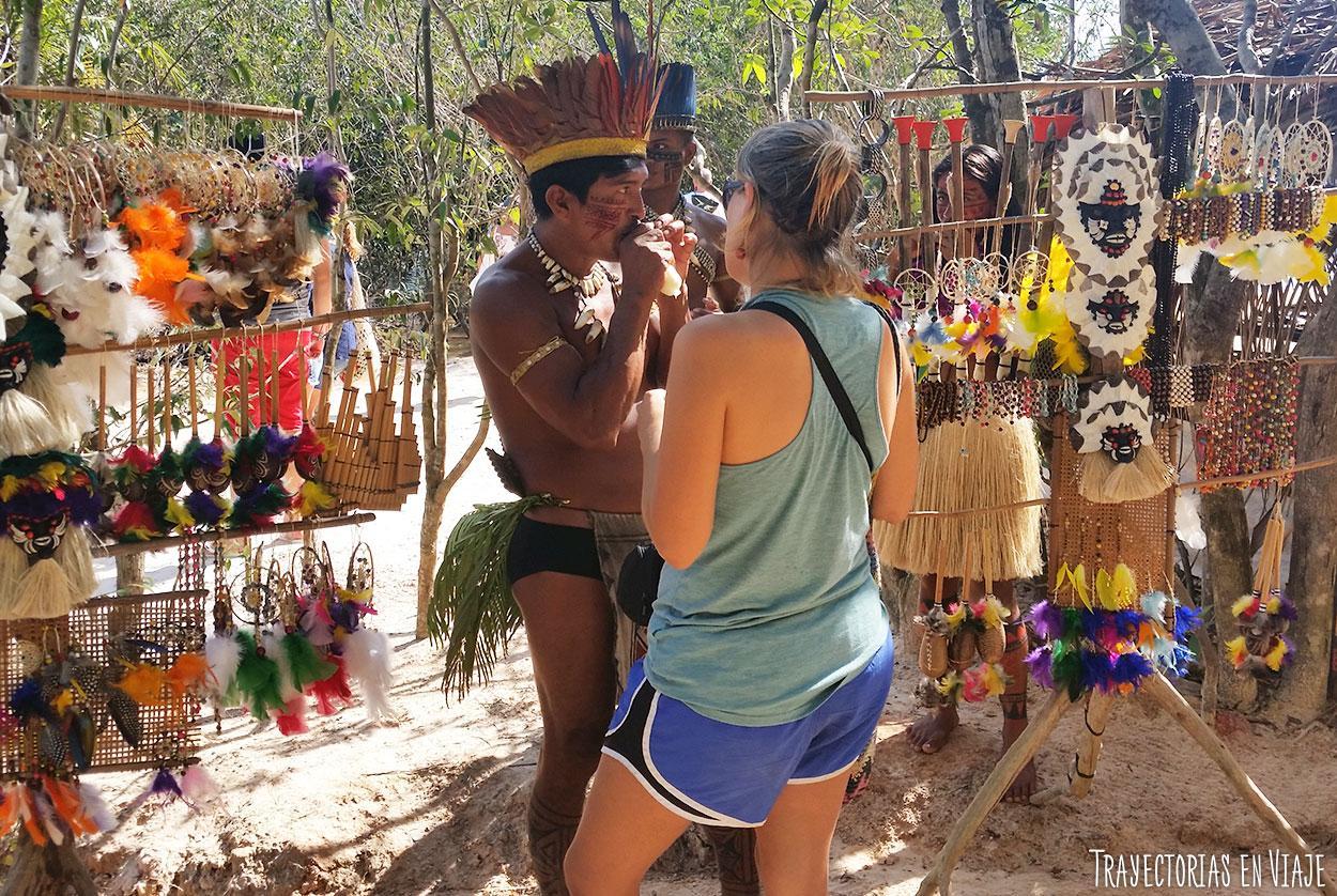 Artesanías de las comunidades de la Amazonía brasileña.