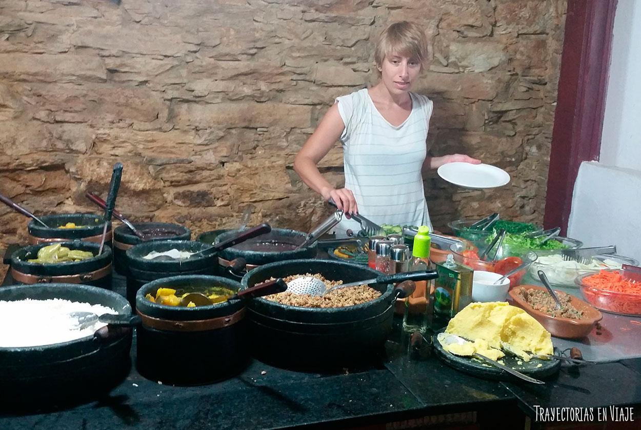 Viajar a Brasil y comer mucho