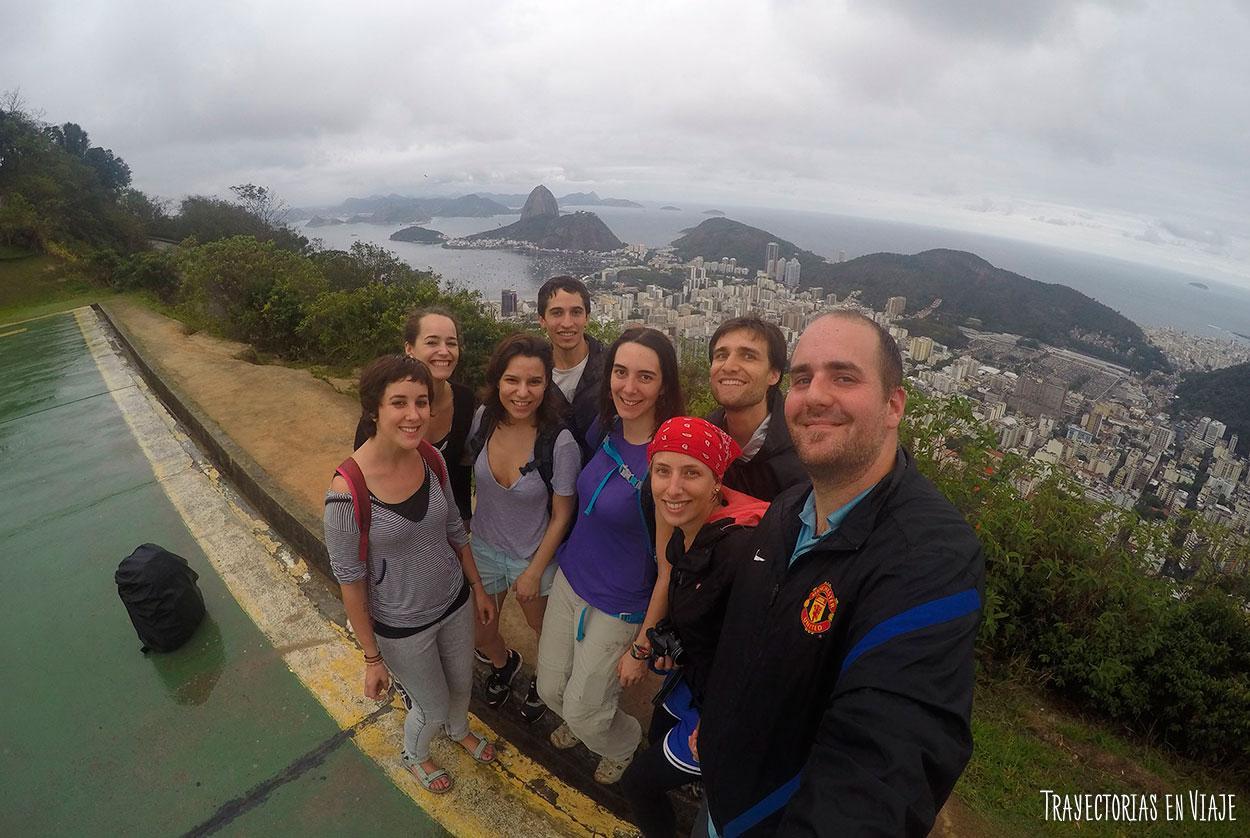 Viajar a Brasil y encontrarte muchos argentinos