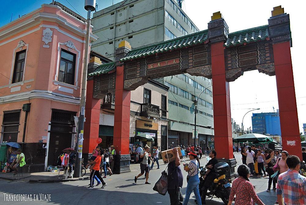 Lugares para visitar en Lima: Barrio Chino