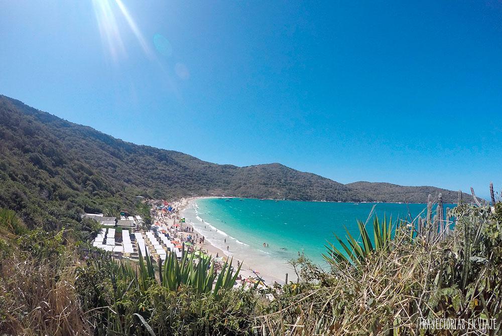 Praia do Forno, una de las mejores playas de Arraial do Cabo