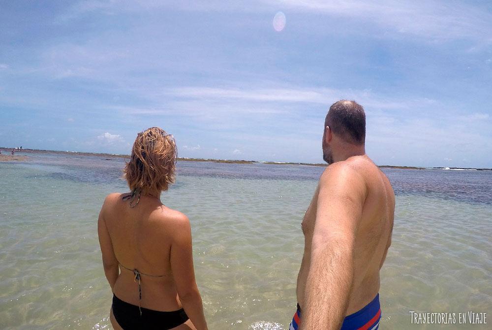 Vacaciones en Porto de Galinhas en playa de Muro Alto