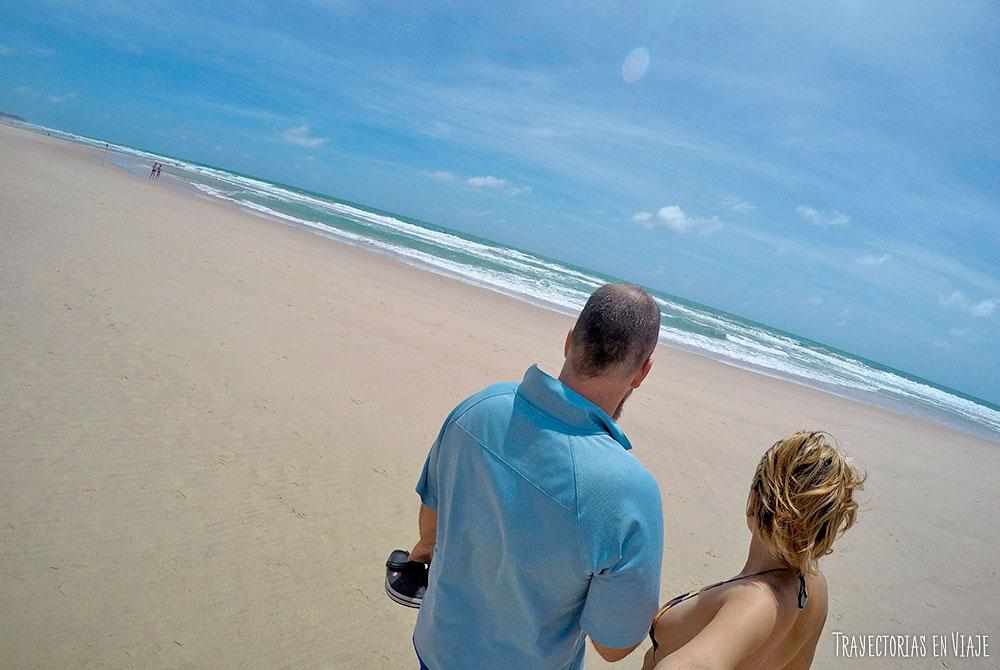 Vacaciones en Porto de Galinhas con mucha playa