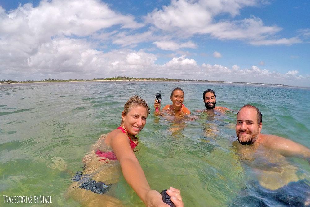Vacaciones en Porto de Galinhas y visita a Maracaípe