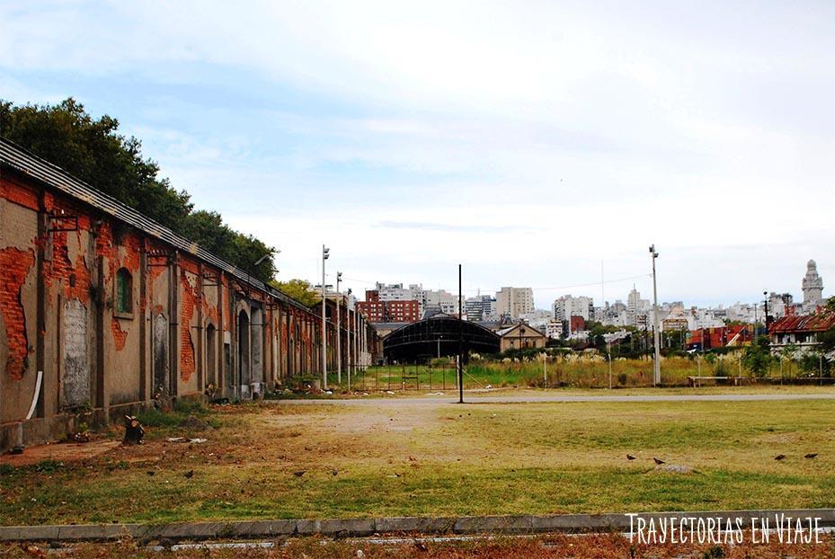 Vieja estación de tren de Montevideo Uruguay