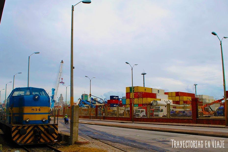 Puerto de Montevideo Uruguay