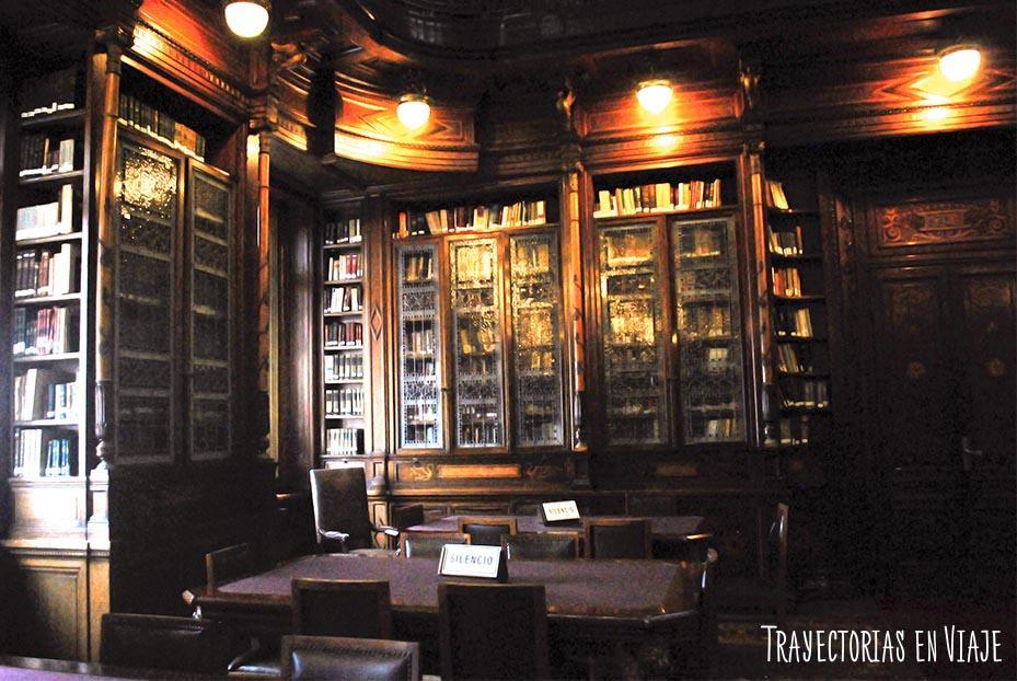 Biblioteca del Parlamento. Montevideo Uruguay