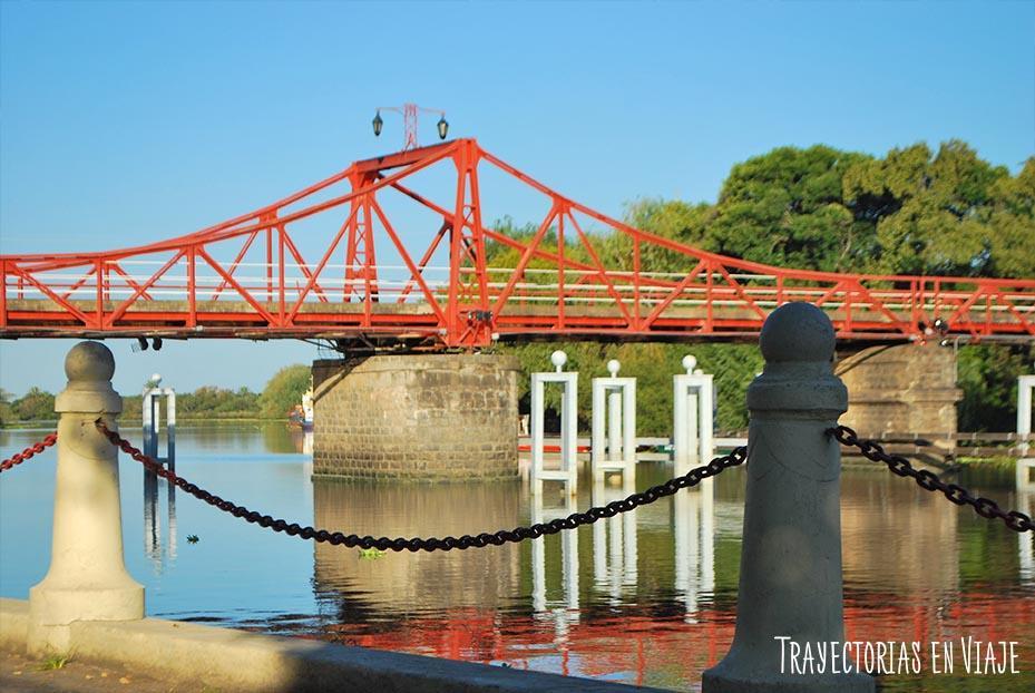 Puente giratorio de Carmelo Uruguay