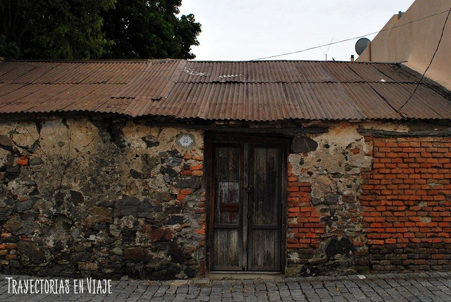 Casa abandonada. Colonia Uruguay