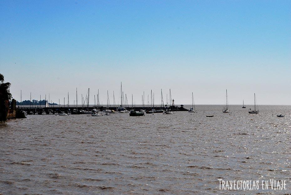 Muelles de Yates. Colonia Uruguay