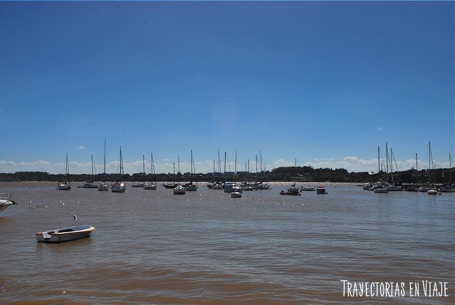 Muelle de Yates de Colonia Uruguay