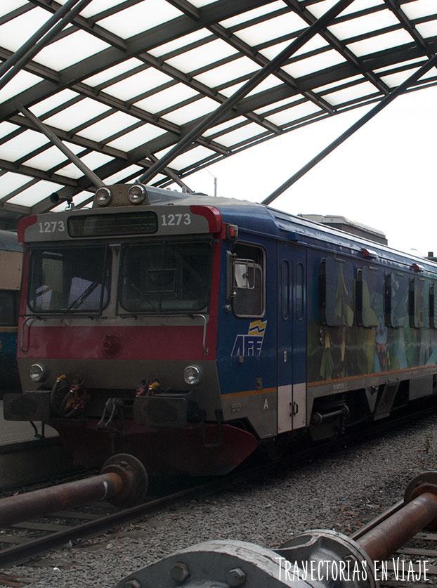 Tren de Montevideo Uruguay