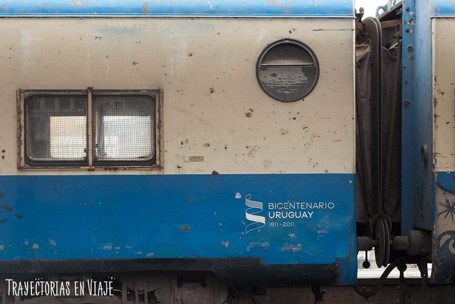 Vagón de Tren en Montevideo