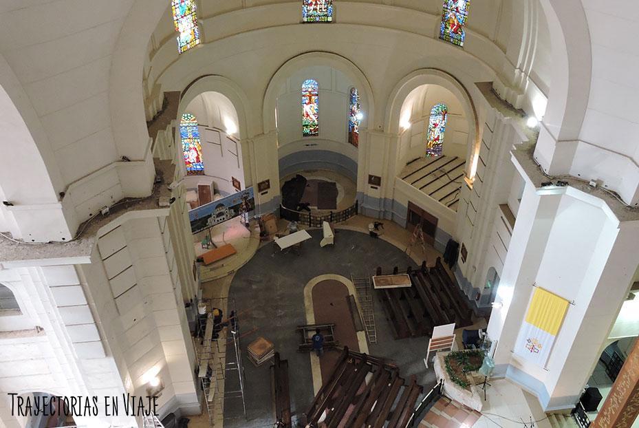 Basílica de Caacupé Paraguay en refacción