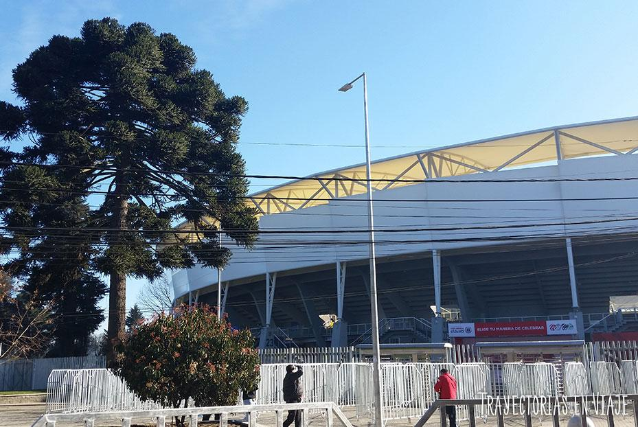 Entrada Estadio Municipal Ester Roa Rebolledo, Concepción. Copa América 2015