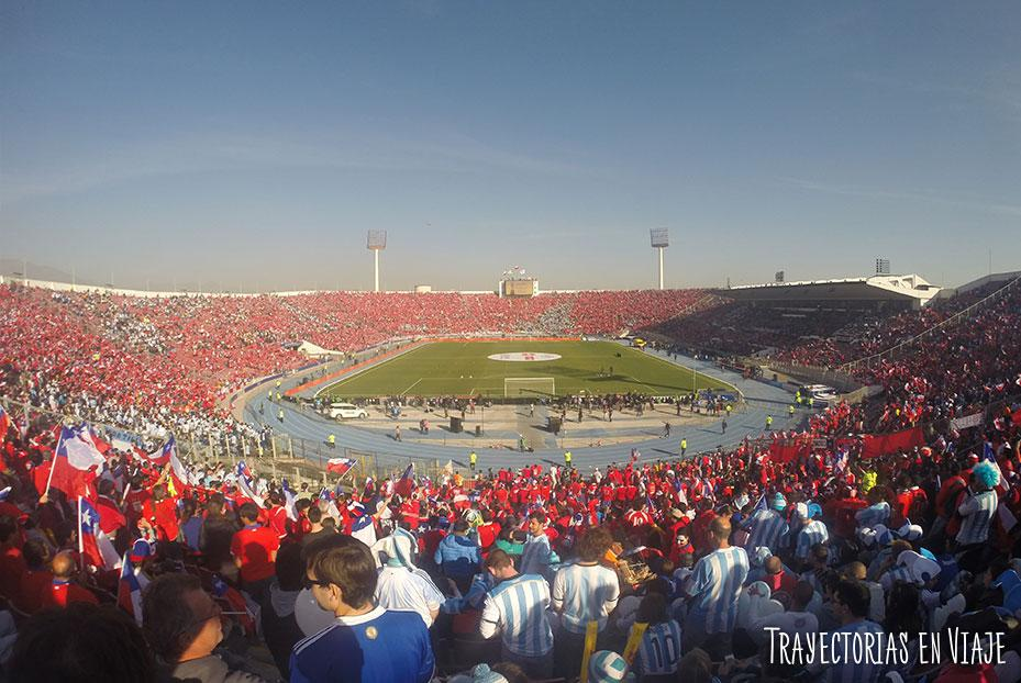 Estadio Nacional Julio Martínez Pradanos, Santiago de Chile. Copa América 2015