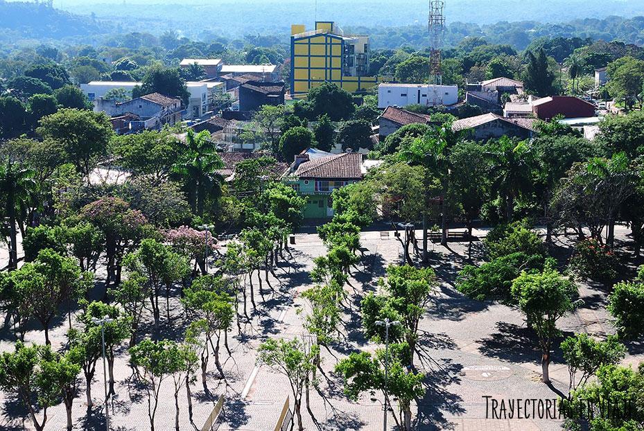 Vista desde la basílica de Caacupé Paraguay