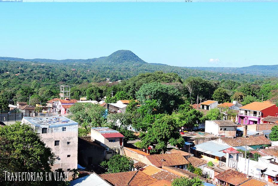 Vista desde la basílica. Caacupé Paraguay