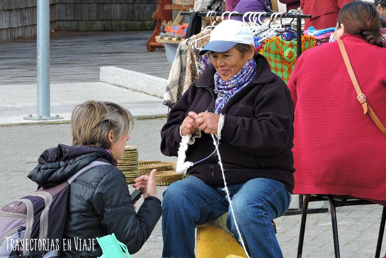 Feria Artesanal de Dalcahue, Chiloé.