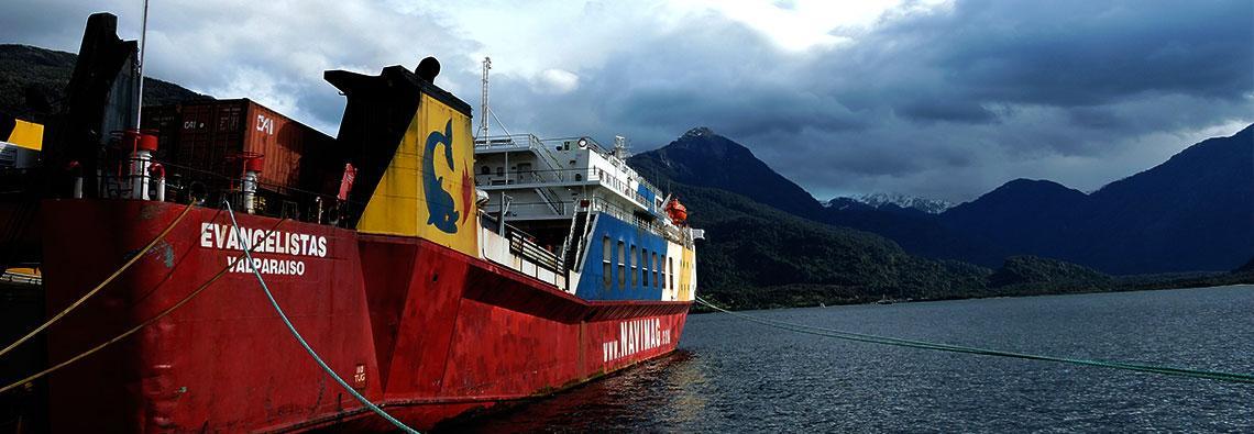 Viajar en Ferri por la patagonia chilena