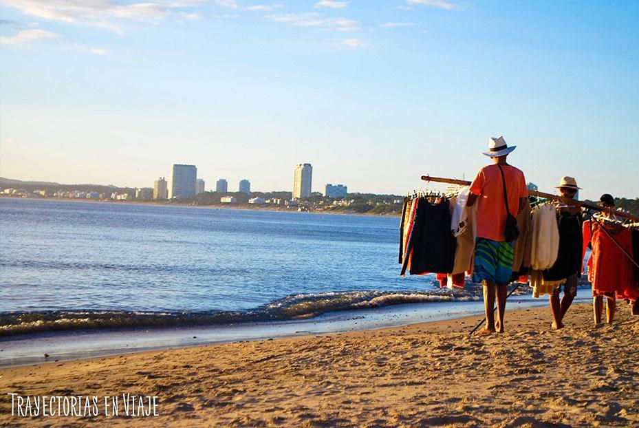 Playa Mansa de Punta del Este, Uruguay.