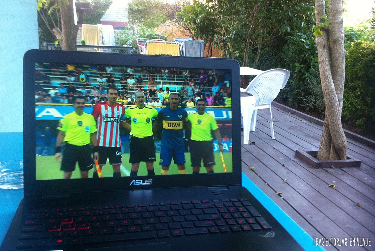 Boca vs Estudiantes en Punta del Este.