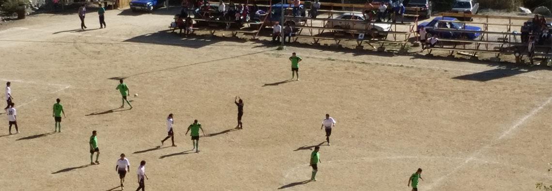 Fútbol y viajes en Valle de Elqui.