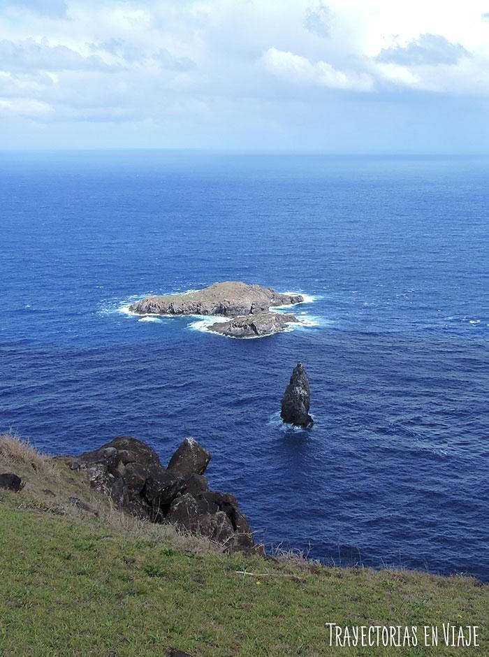 Vista desde Orongo - Isla de Pascua