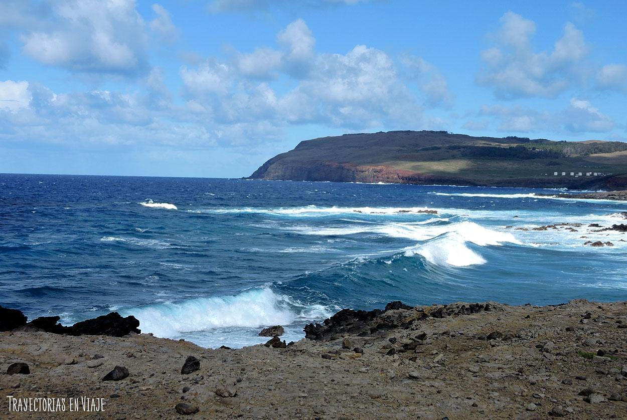 Costa del Oceano Pacífico- Isla de Pascua