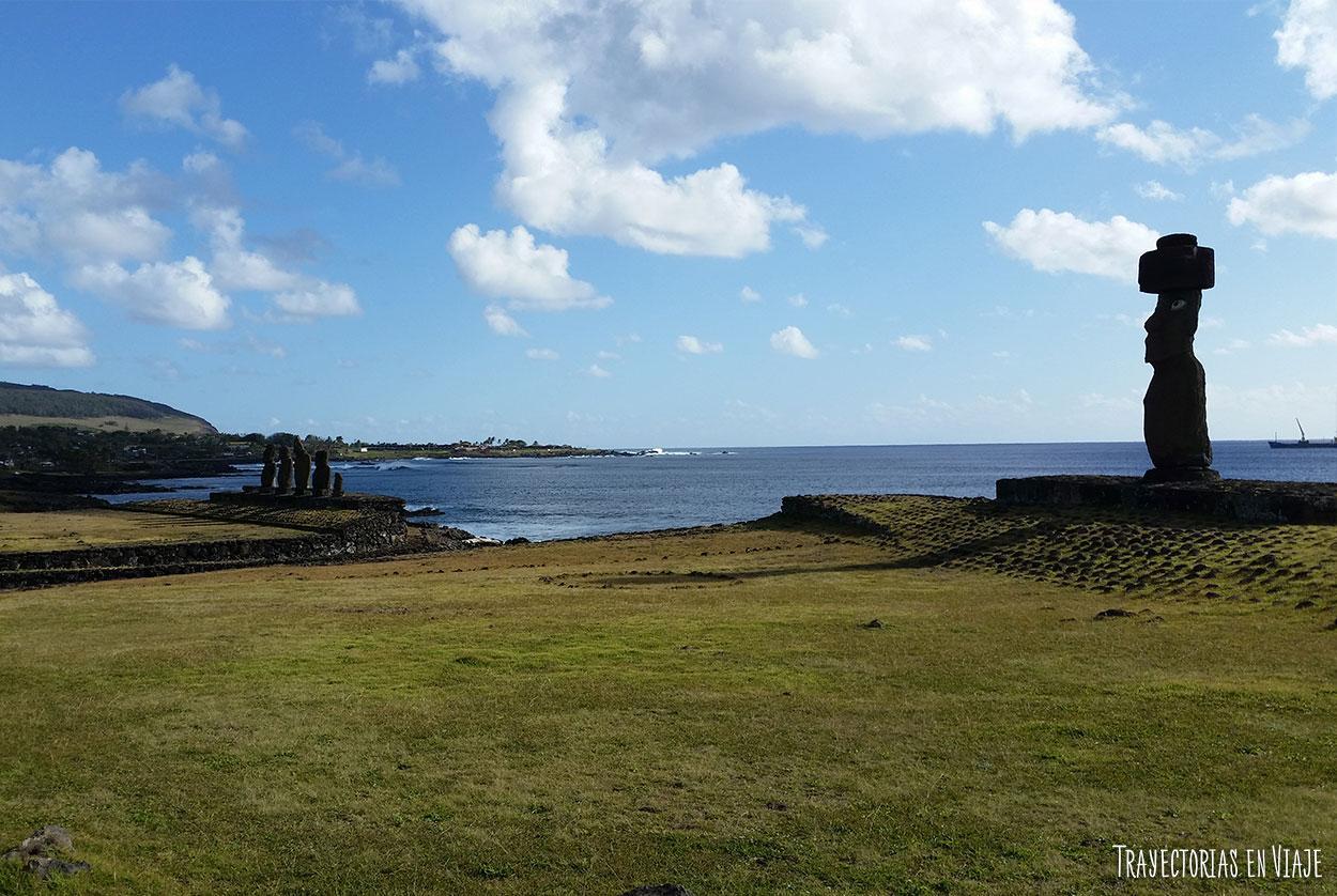 Ahu Tahai - Imágenes de Isla de Pascua