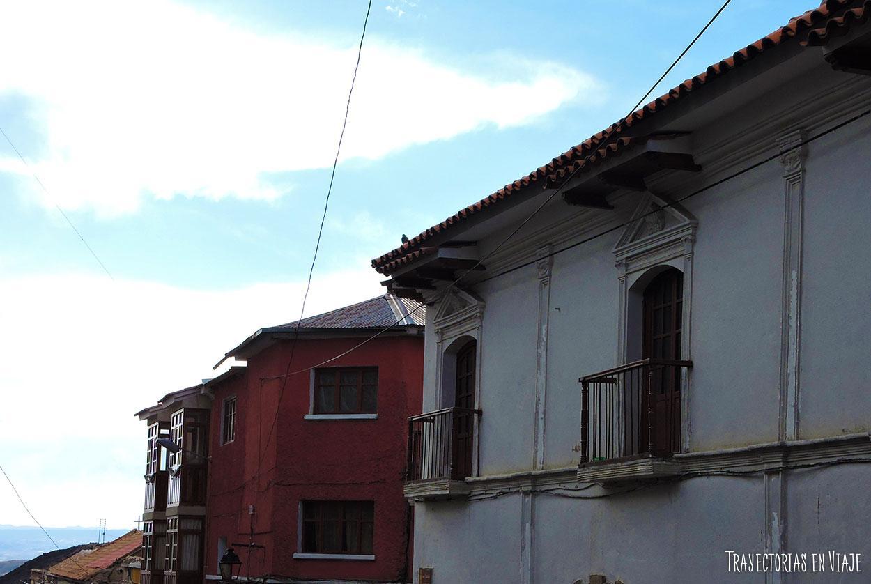 Imágenes de Potosí: balcones coloniales