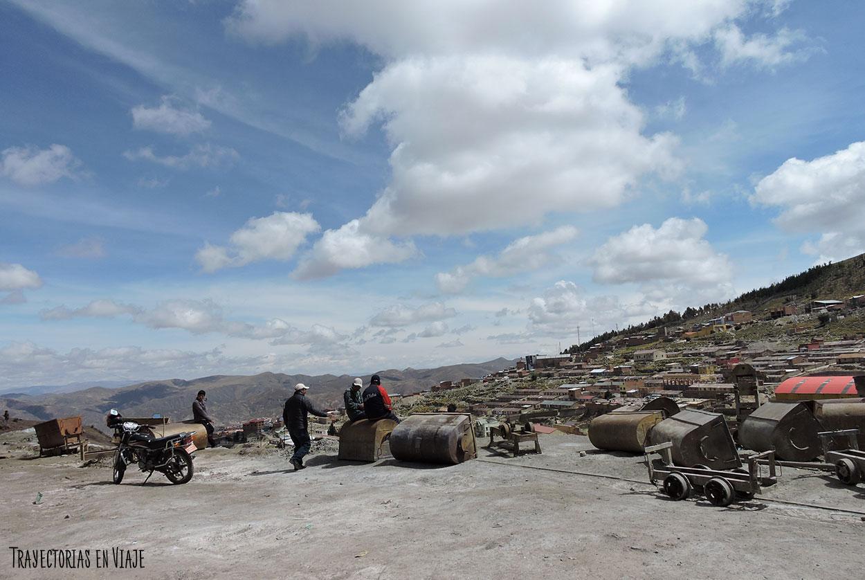 Alrededores de las minas de Potosí