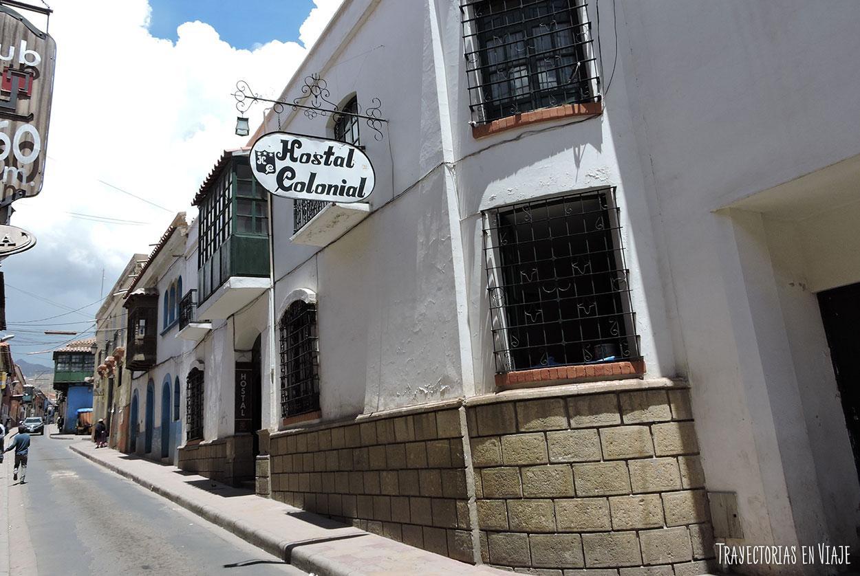 Hostal Colonial en Potosi villa imperial